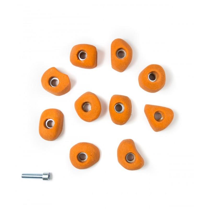 Confezione da 10 Prese taglia XS Arrotondate