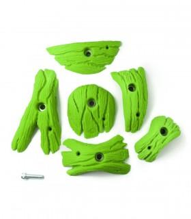 Confezione da 6 pinze svasi Larix taglia L