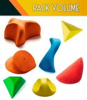 Confezione volume arrampicata
