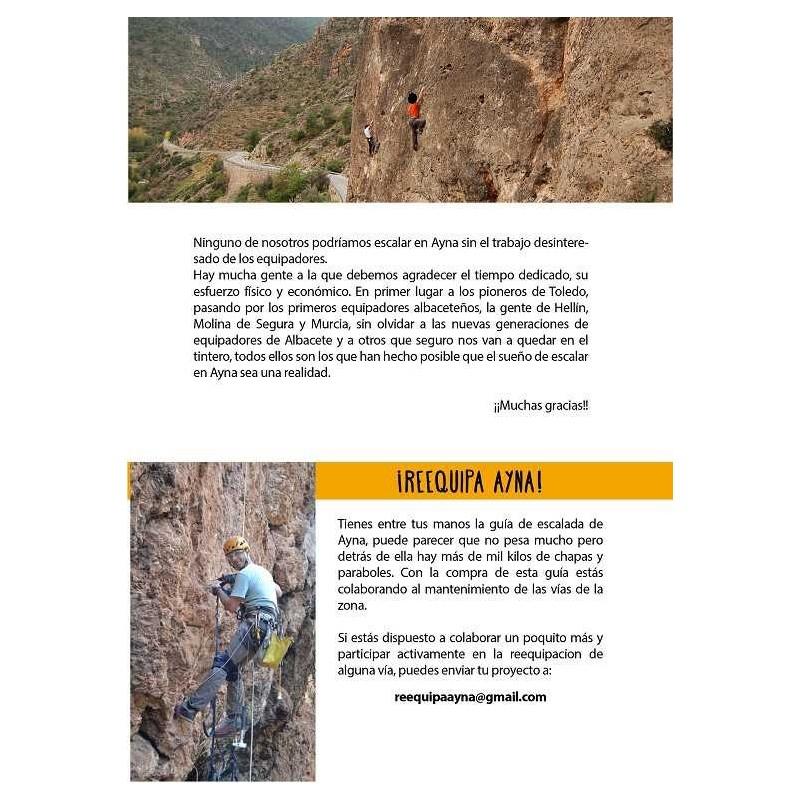 Guia de escalada Ayna